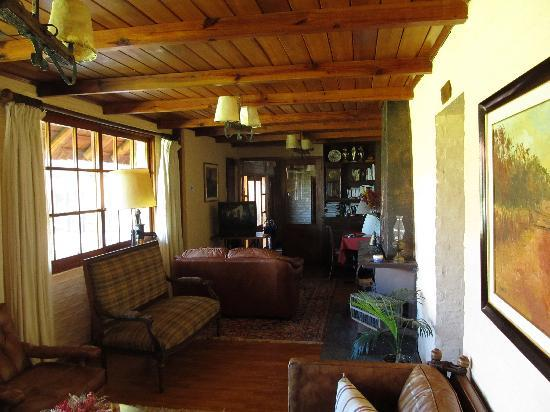 Estancia Finca Piedra: The wing where my room was - beautiful.