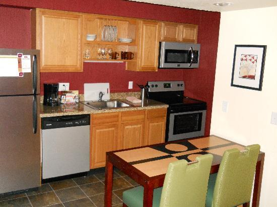 Residence Inn Sunnyvale Silicon Valley I: Kitchen