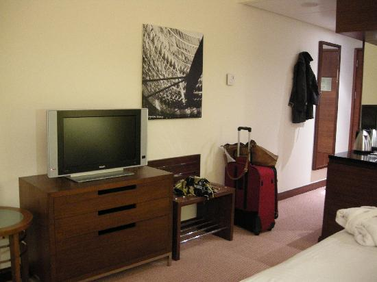 Hilton Warsaw Hotel & Convention Centre: Flat screen TV