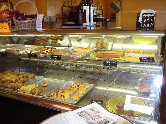 Caicos Bakery: Selection of pastries