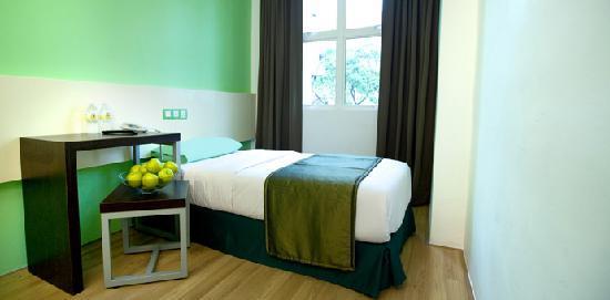 Apple Hotel Bedroom