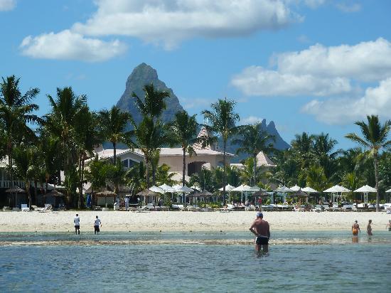 Sugar Beach Mauritius: Sugar Beach vu du large