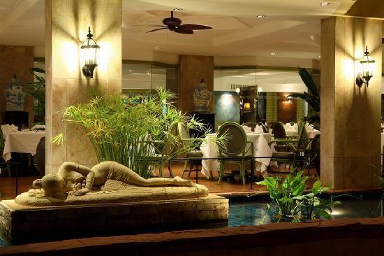 The Bayview Hotel: Garden Terrace Cafe