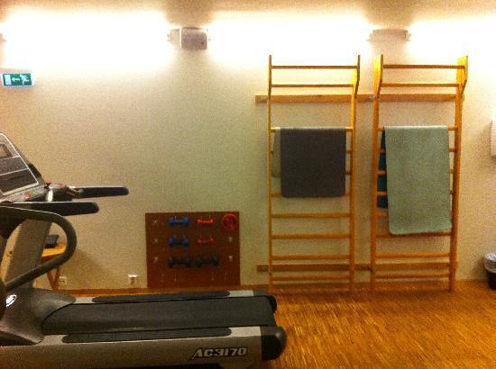 Scandic Nidelven: limited gym