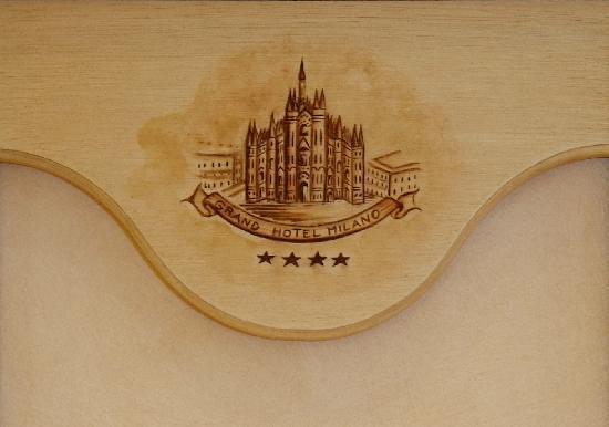 Grand Hotel Milano: Logo albergo