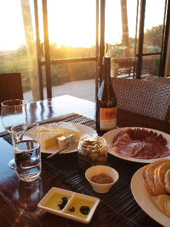 Redgate Beach Escape: Local food from 'the Pantry' in Margaret River, eating at Redgate Beach Chalet