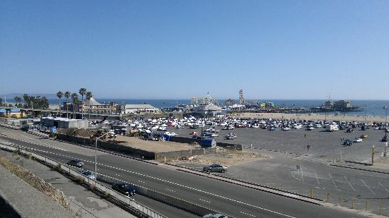 Санта-Моника, Калифорния: View of the Santa Monica pier