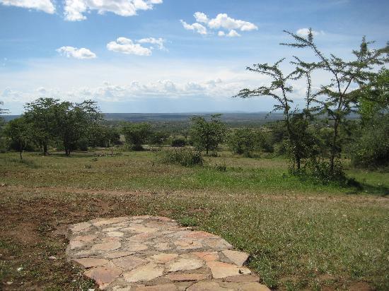 Oldarpoi Mara Camp : view from your doorstep