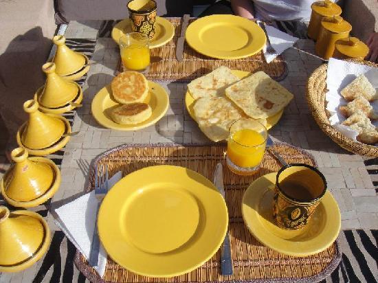 Riad Baba Ali: petit déjeuner chaque jour different et exquis