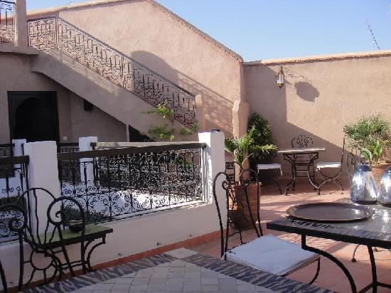 Riad Baba Ali: terrasse agréable et calme