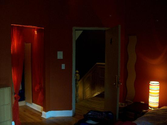 هارلم بد آند بركفاست: Blick aus meinem Zimmer