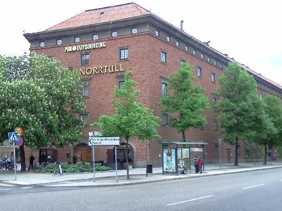 First Hotel Norrtull: Hotel & Bus Stop