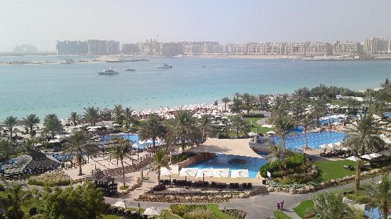 The Westin Dubai Mina Seyahi Beach Resort & Marina: the view from our room!