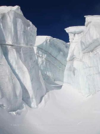 Ice Towers on the Vallee Blanche Chamonix