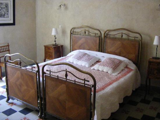 Les glycines : La chambre