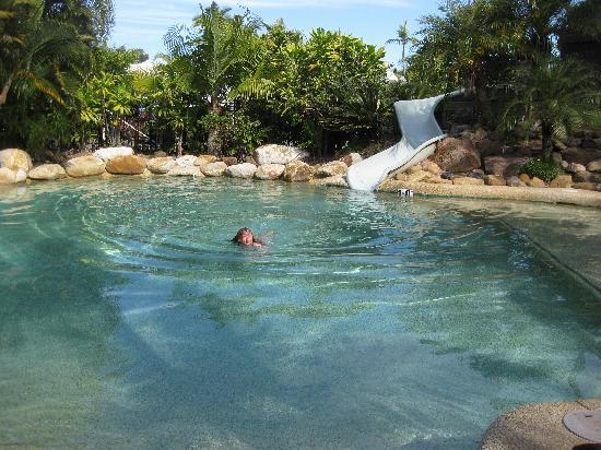 NRMA Treasure Island Holiday Park: One of the 3 pools - this one was heated