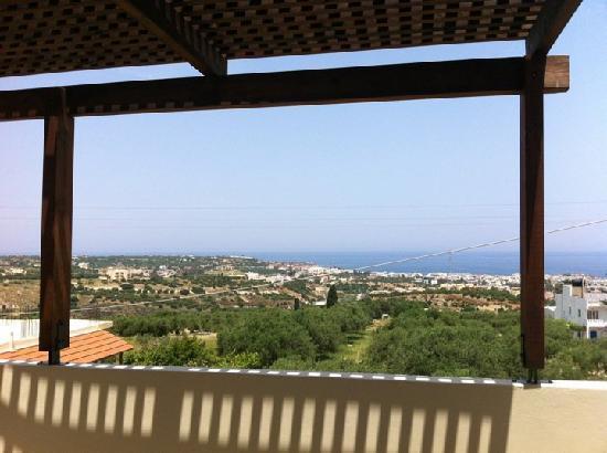 Matheos Apartments: Brilliant balcony view