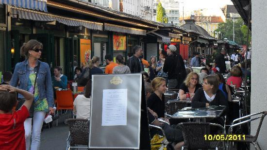 Strandhotel Alte Donau: Naschmarkt