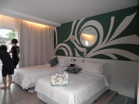 Batik Boutique Hotel : spacious n clean room