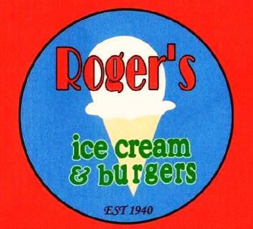 Roger's Ice Cream and Burgers : logo