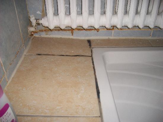 Hotel Le Concorde : Etat de la douche !!!!