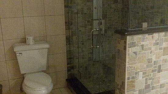Doubletree by Hilton Hotel Tarrytown : Sauna/Shower