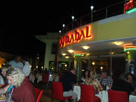 ... left for round two. - Picture of The Taj Mahal, Marmaris - TripAdvisor