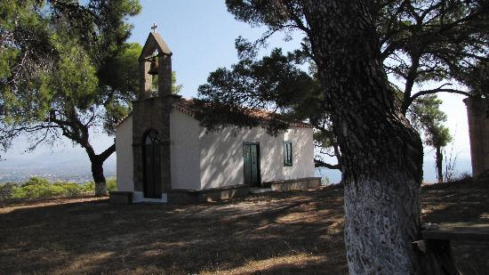 Spetses, Greece: Panagia Daskalaki church
