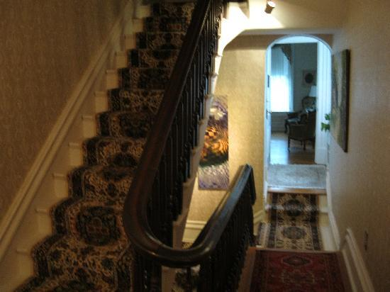 The Chancellor's House: Stairs