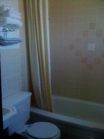 San Jon Motel: Clean, updated bathroom