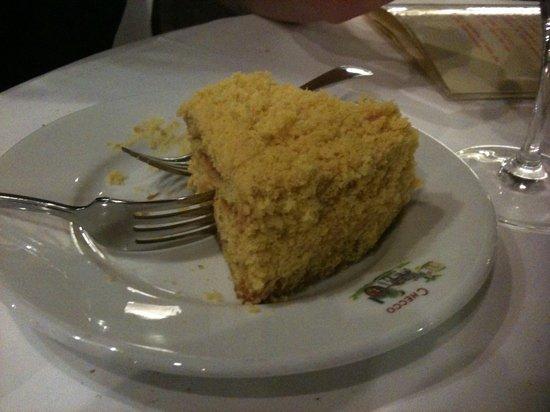 Checco er Carrettiere : egg nogg cake - awesome