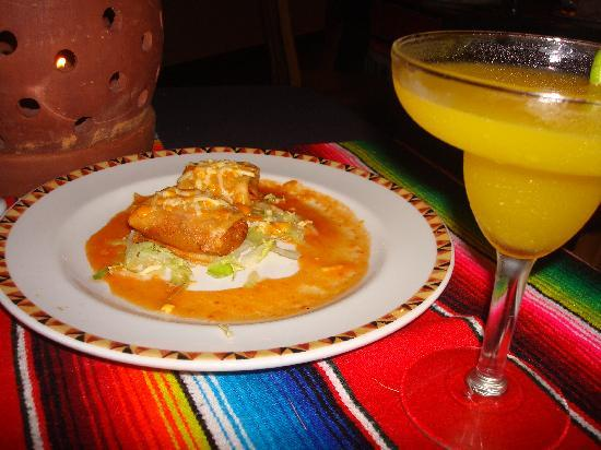 Dreams Palm Beach Punta Cana: Drinks and appetizers at the Mexican restaurant