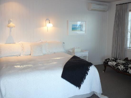 Peppers on the Point - Lake Rotorua: The bedroom