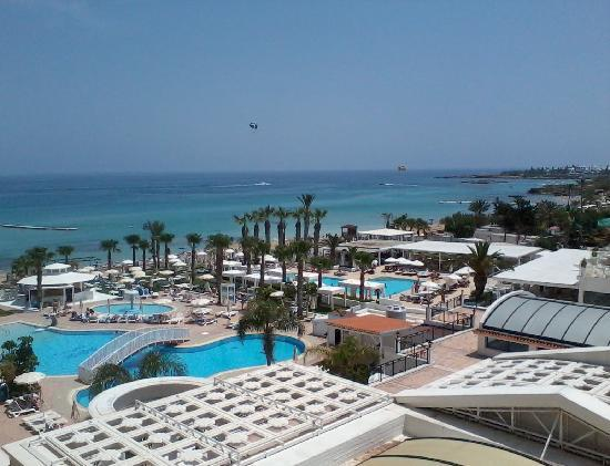 Constantinos the Great Beach Hotel: View from room