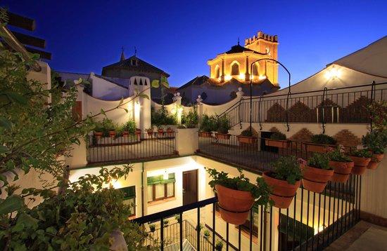 Casa Banos de la Villa: Terraza