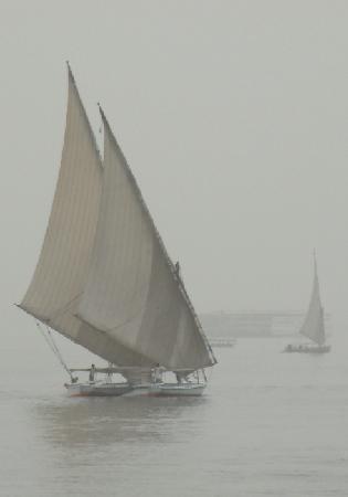 Assouan, Égypte : Höhepunkt am Nil ist eine Feluken-Fahrt