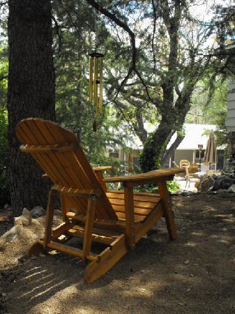 Prescott Pines Inn Bed and Breakfast: meditation garden