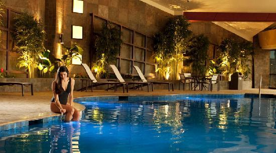 Choctaw Casino Resort: Indoor pool in the Natatorium