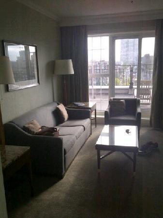The Westin Nova Scotian : Entryway, living area.