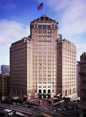 InterContinental Mark Hopkins San Francisco: Hotel Exterior