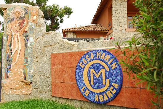 Vina Casa Marin Winery: The Mosaic Entrance