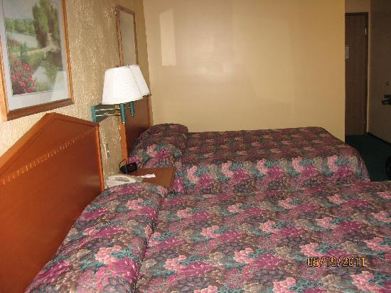 Econo Lodge Lansing - Leavenworth: room # 106  Spotless