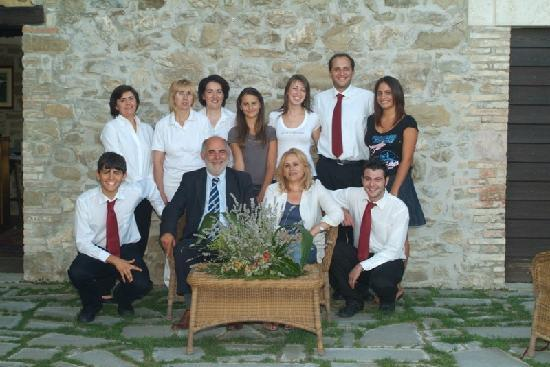 Castello di Petrata: Family & Staff