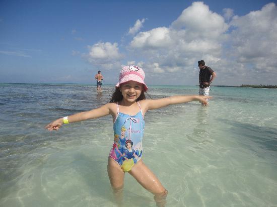 SeavisTours: Piscina Natural - natürliches Sandbank mitten im Meer