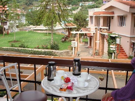 Hotel Kodai International: view from room