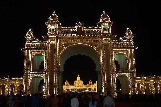 Pałac Mysore: main gate