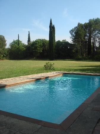 Domaine de Saint-Clement: Our swimming pool