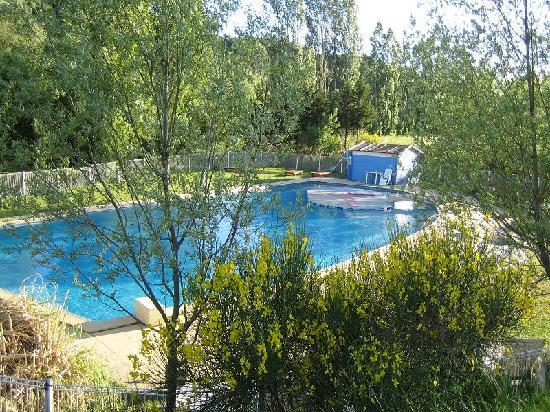 Moulin d'Antelon: La piscine