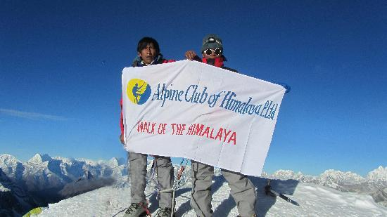 Alpine Club Of Himalaya - Private Day Trip : Alpine Club in Island Peak