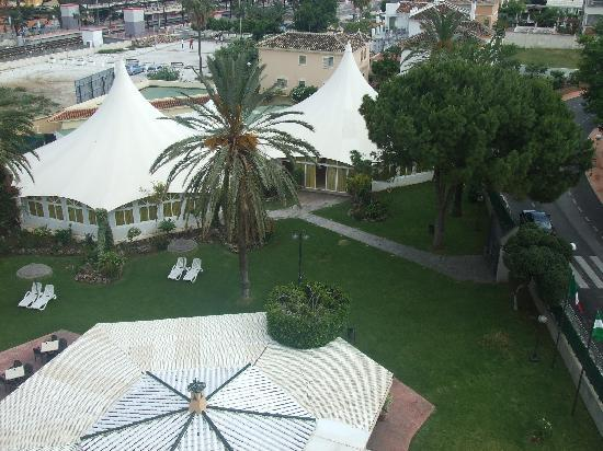 Royal Costa Hotel: view from room